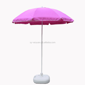 1.8m purple color polyester jaipur promotional beach umbrella