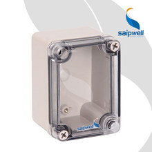 CE Small Outdoor Electric Box Transparent/Clear Lid/Cover Electricity Meter Enclosure