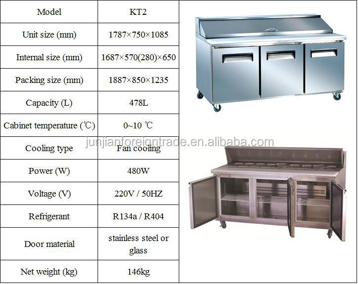 Commercial Custom Sized Deli Refrigerator For Fruit And Vegetables