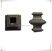 forged/cast iron bosses for wrought iron fence