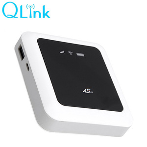 Qualcomm 4G WiFi LTE Download 100M Mobile WIFI Router With 5200mA Power  Bank Q5