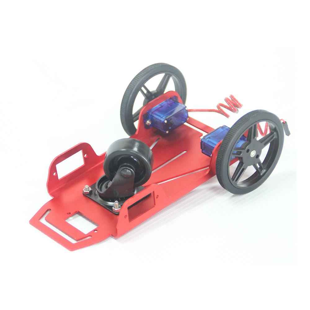 2 Wheel 2wd Drive Mini Robot Platform For Arduinos Raspberry Pi Kit