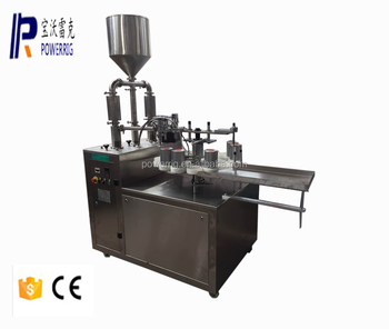 Powerrig machinery high quality semi automatic neoprene glue filling capping machine for sale
