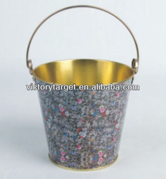 Decorate bucket buy decorate metal bucket metal bucket for How to decorate a bucket