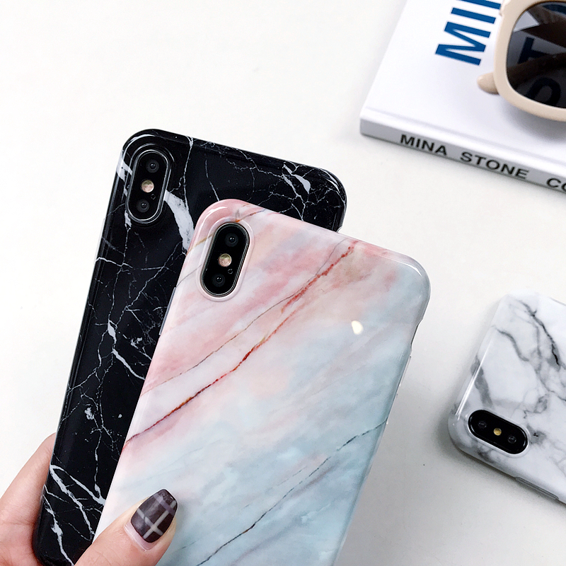 2020 Newest Hot Sale Beautiful Marble TPU Phone Case For iPhone X Wholesale