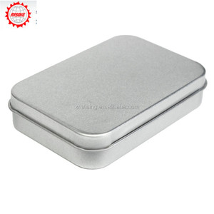 Rising New Survival Kit Tin Higen Lid Small Empty Silver Flip Metal Storage Box Case Organizer For Money Coin Candy Keys