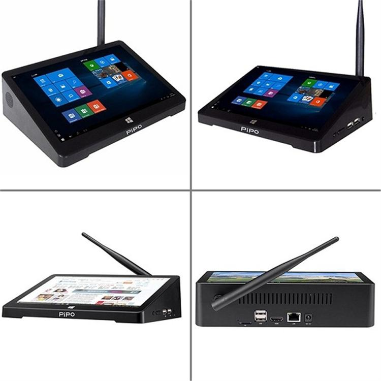 Asli Pipo X9s 4 GB RAM 64 GB ROM set top box dengan X9s Win 10 & Android 4.4 OS Ganda pipo tablet Mini PC