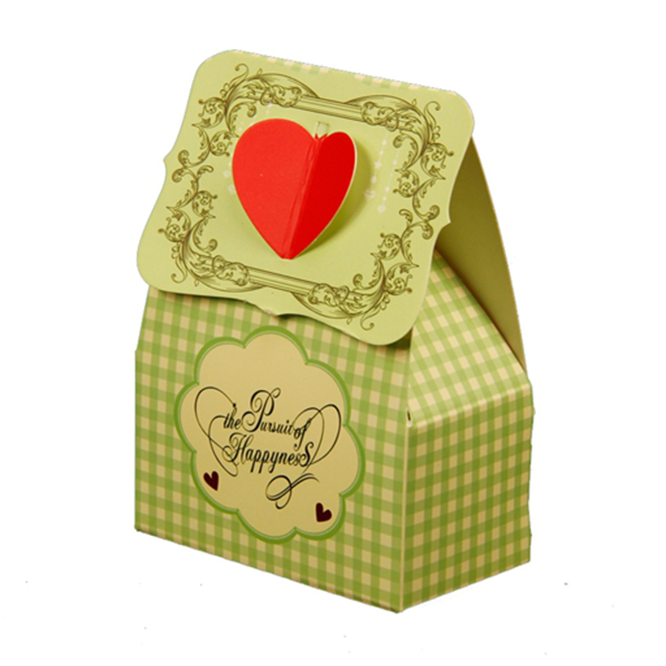 DIY Unique & Cheap Paper Wedding Favor Gift Boxes for Candy Event & Party Supplies Bulk Wholesale 60pcs Free Shipping