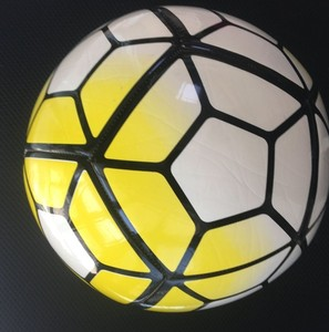 Size 5 futbol topu yellow wholesale custom TPU 12 panels football training deflated soccer balls