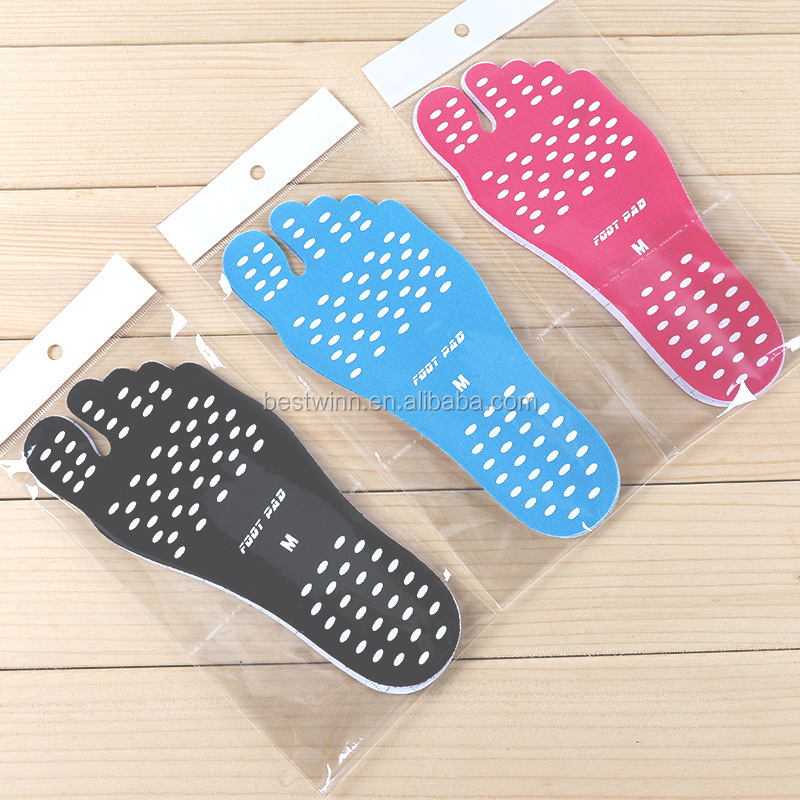 Factory Price Summer Beach Holiday Stick on Soles Adhesive Foot Pads
