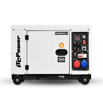 CE certificate factory price Portable/easy move 5kw silent diesel generator