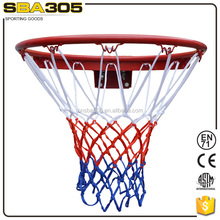 sports netting with professional basketball hoop