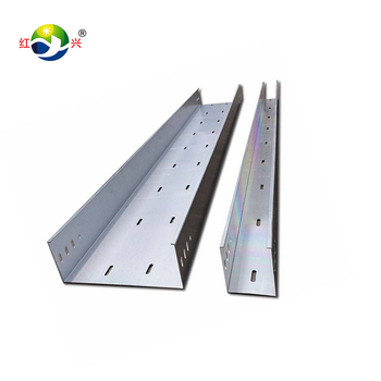 Anti-dust Waterproof Slotted Cable Tray