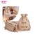 Eco-Friendly Small Drawstring Gift Packaging Jute Gunny Sack Bags With Personalized Logo