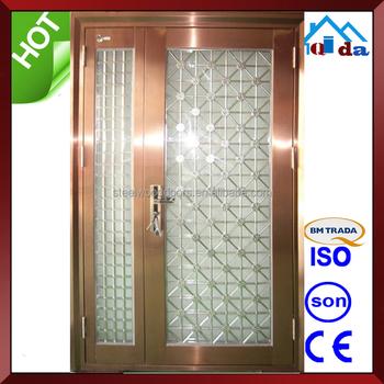 Entry Door And Exterior Door With New Stainless Steel Door Design ...