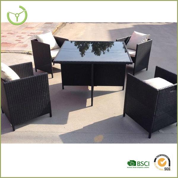 maze rattan furniture winchester cube 4 seat set