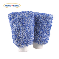 wholesale microfiber chenile house cleaning glove car wash mitt