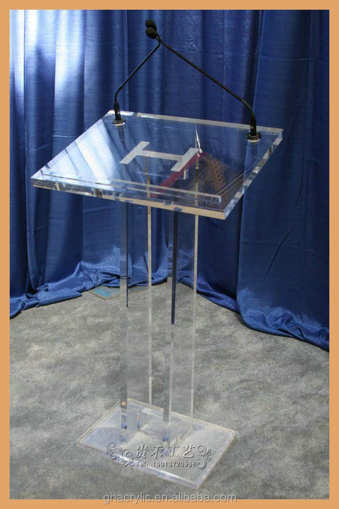 Clear Acrylic Church Pulpit Podiums Design/lectern/rostrum/pmma ...