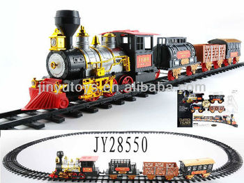 electric toy train sets with music light and smoking buy metal toy train set track toy model. Black Bedroom Furniture Sets. Home Design Ideas