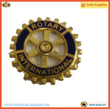 Metal Rotary Badge, Rotary Lapel Pins, Rotary Lapel Pin Badge.