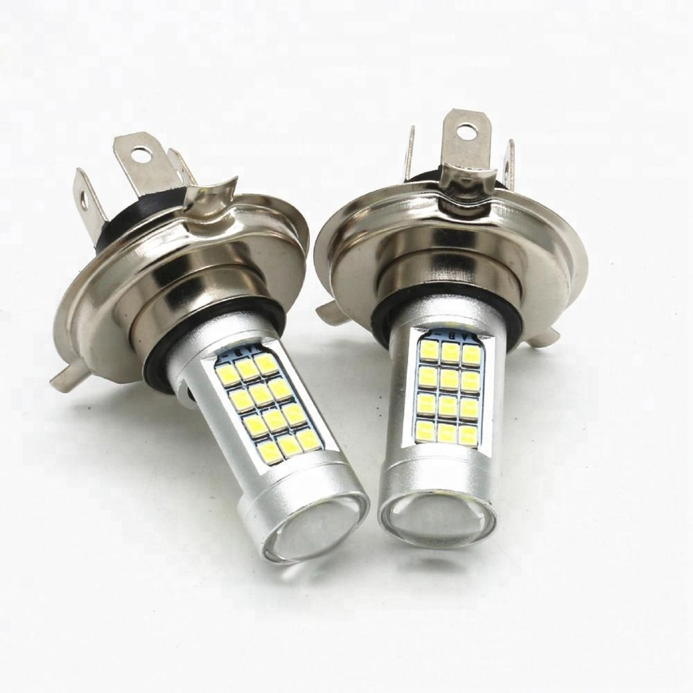 High Power 3528 42smd Strobe Fog LED Bulb Car Auto Light Source Projector DRL Driving Fog Lamp Xenon White DC12V h4