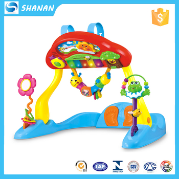Baby Electronic Keyboard Toy Fitness Frame Activity Gym - Buy ...