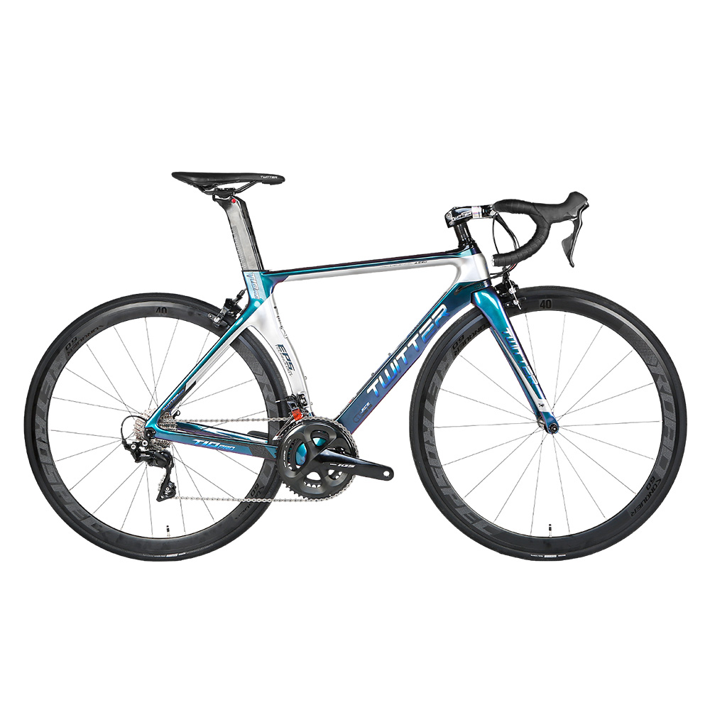 EU Quality Carbon Fiber Frame 700C Road Bike 8.2kg SHlMANO 22-Speed 105 R7000 Full Groupset Road <strong>Bicycle</strong>