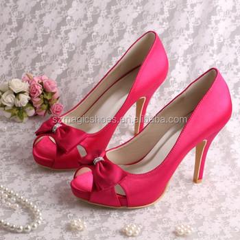 adf44c869c44 (16 Colors) Dark Cream Dress Wedding Shoes Bridal - Buy Cream ...