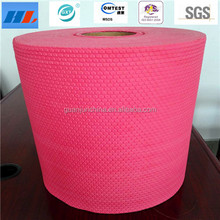 Woodpulp spunlace laminated nonwoven disposable dry industrial cleaning wipes