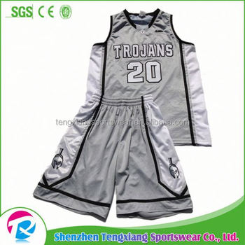 f1bea822c 2017 Pro Customized Basketball Jersey Uniform Design White Green ...