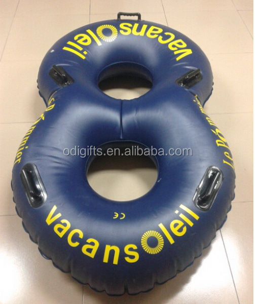 hot sale PVC double inflatable water tube