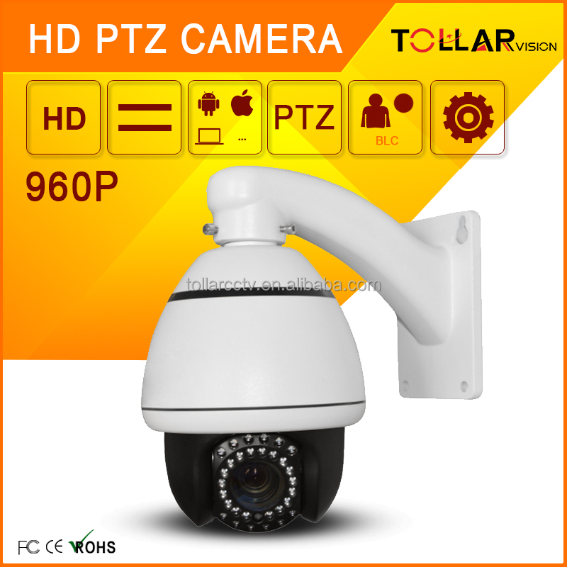 Lowest Price HD 960P mini 4inch speed dome 10x optical zoom camera mobile phone