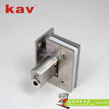 90 Degree Frameless Glass Cabinet Door Hinge Stainless Steel Glass