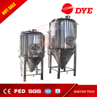 1000L Used Stainless Steel Beer Conical Fermentation Tank