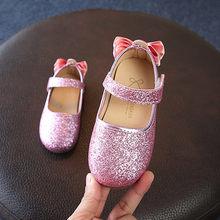 Обувь для девочек; повседневные модные вечерние кроссовки с цветами и блестками; обувь принцессы; детская повседневная обувь(Китай)