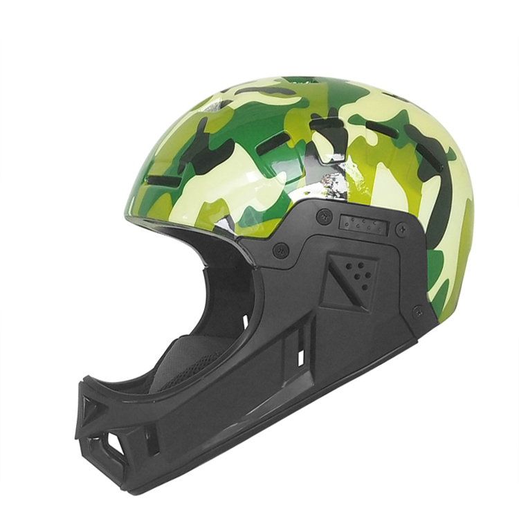 Full Face Ultra-light Design BMX/Skate Helmet 13
