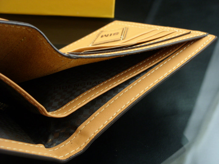 2018 Classic casual slim mens credit card wallet and purse fashion wallet for men leather money clip