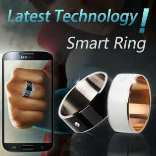 Latest Phone Accessory Cool Electronic Gadgets New For 2017 Style Smart Ring Android Smartphone