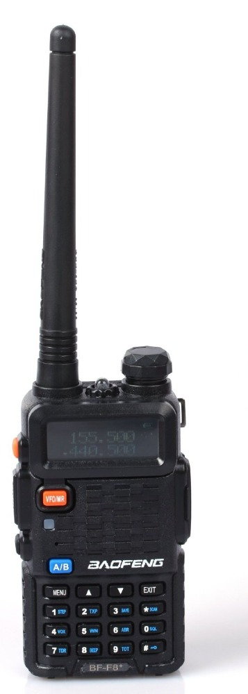 BaoFeng walkie talkie BF-F8+ Dual-Band 136-174/400-520 MHz FM Ham Two-Way Radio Transceiver