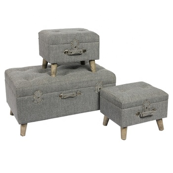 Sensational Vanderbilt 3 Piece Storage Ottoman Set In The Hallway Buy Vanderbilt Foldable 3 Piece Storage Ottoman Set Decorative Storage Trunk Set Vacuum Food Gmtry Best Dining Table And Chair Ideas Images Gmtryco