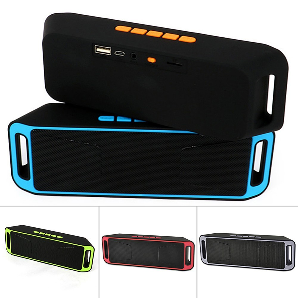 Factory hotsell 208 wireless portable stereo deep bass mp3 speaker TF card FM radio, 3w*2 bluetooth speaker