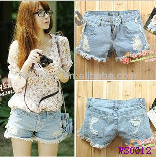 62e060159e latest jeans tops girls, Denim Shorts, lady jean, hot high waisted jean  shorts