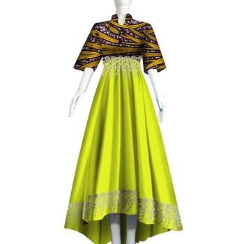 Plus Size Women Traditional African Long Dresses Brand Custom
