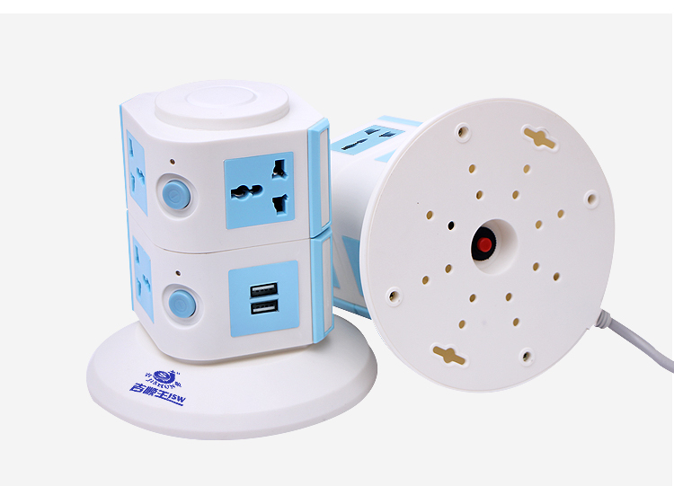 Tower Extension 2.1a Usb Universal Outlet Electrical Plug Adapter ...
