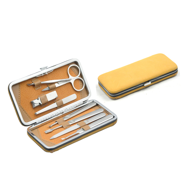Yellow Briefcase Manicure Set,Gel Nail Manicure Kit,Manicure ...