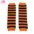 Ready To Ship Halloween Orange White Candy Corn Stripe Leg Warmers - One Size Fit For Baby Toddler Girl or Boy
