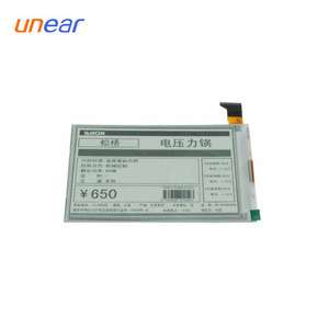 e paper segment display for induction cooker UNLCD61113