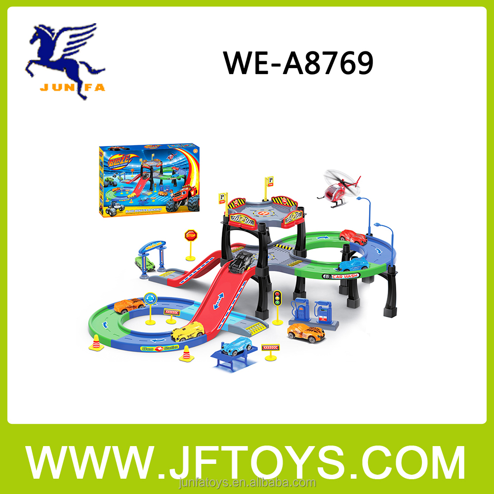 2016 Hot Sale Parking Lot Toys Set