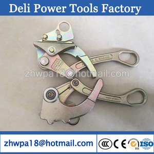 Cable Grip / Wire Cable Grip Come Along Clamp / Pulling Cable Clip Cable Grip, Wire Rope Clip
