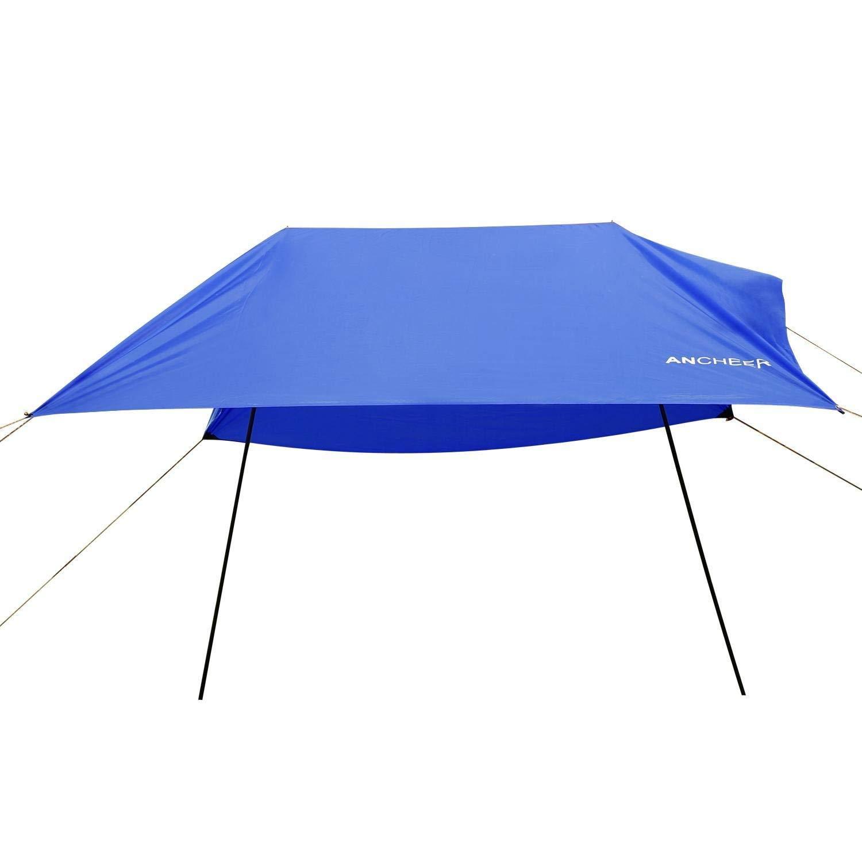 128b42e94336 Get Quotations · PEATAO 3 X 3m Outdoor Beach Tent Portable Canopy Sunshade  Sun Shelter (US STOCK)